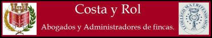 Costa y Rol – Abogados y Administradores de fincas Logo